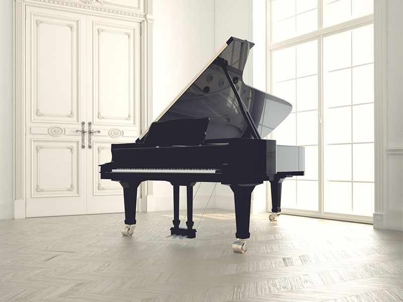 Offerta Pianoforte Mezza Coda Horugel - Pianoforte Usato Horugel - Acoustic Piano