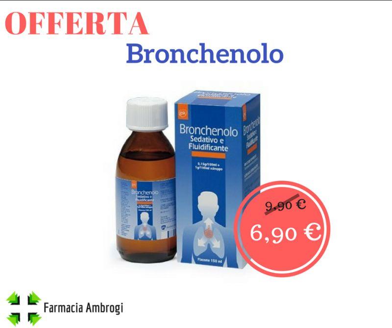 offerta sconto bronchenolo sciroppo secca grassa tosse