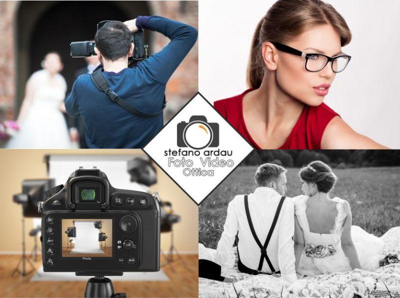 promozione servizi fotografici - offerta occhiali da vista su misura - Ottica Ardau