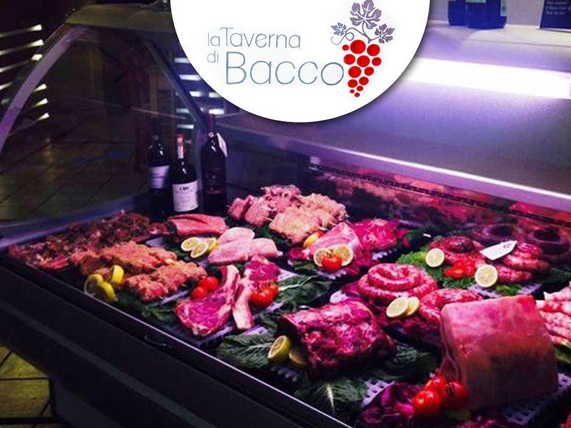 offerta mangiare carne - promozione ristorante carne locale - la taverna di bacco