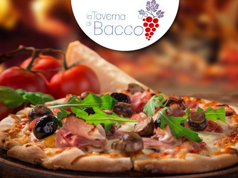 offerta ristorante pizza palazzolo - promozione pizzeria palazzolo - la taverna di bacco