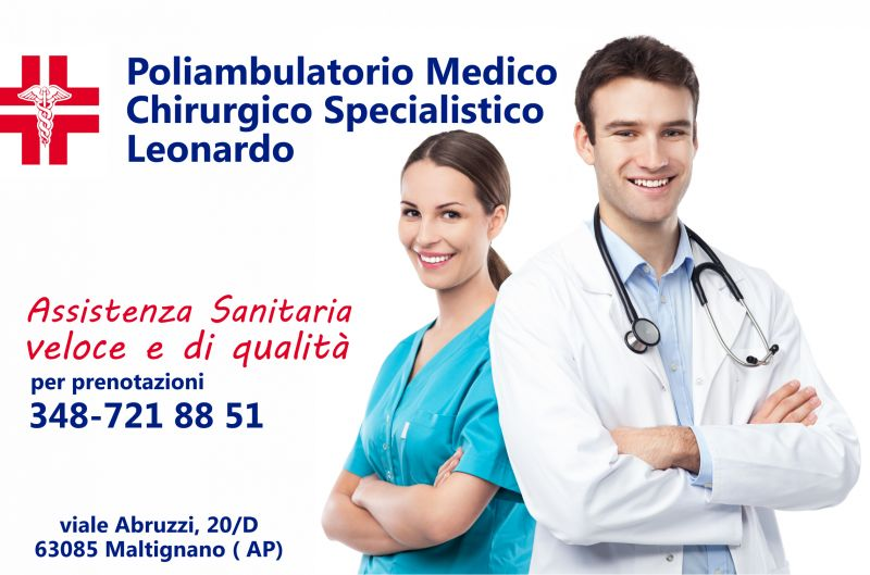 Offerta Servizi medici - Promozione Poliambulatorio - Poliambulatorio Medico  Leonardo