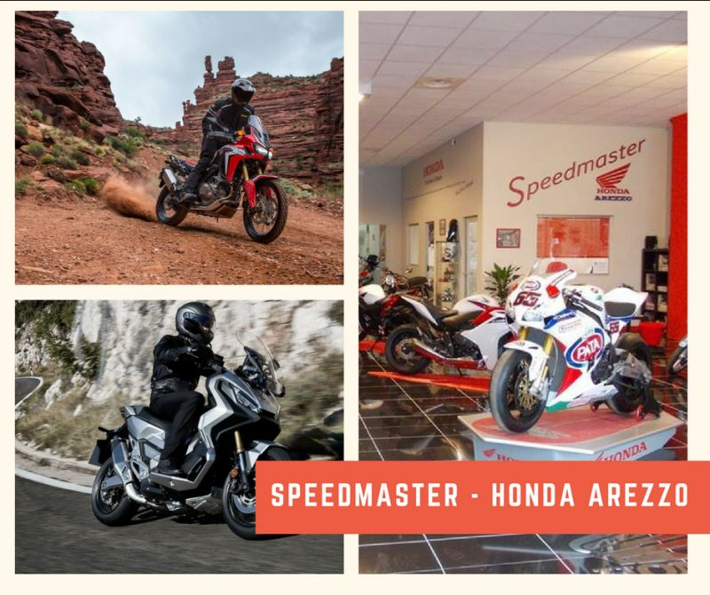 Speedmaster -  Honda Arezzo - Concessionario Honda Arezzo - Moto Arezzo