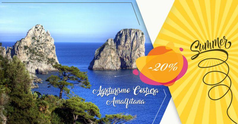 Offerta Servizio prenotazione on line vacanze in agriturismo Costiera Amalfitana - Agriturismo