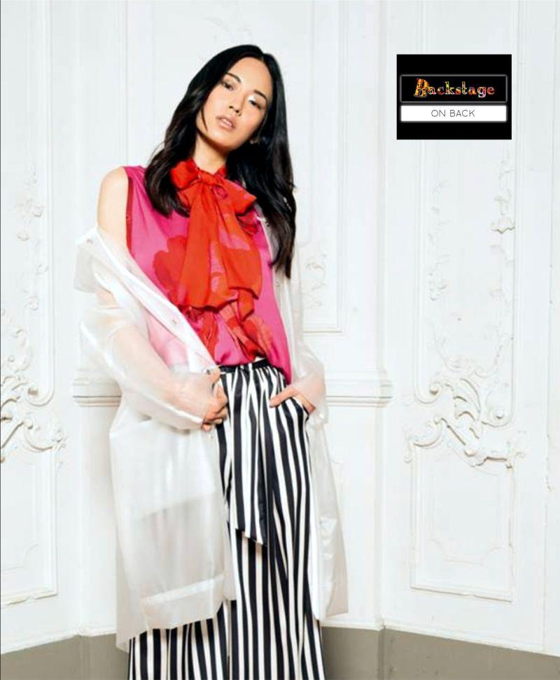 offerta vendita abbigliamento donna total look - occasione moda uomo backstage on back