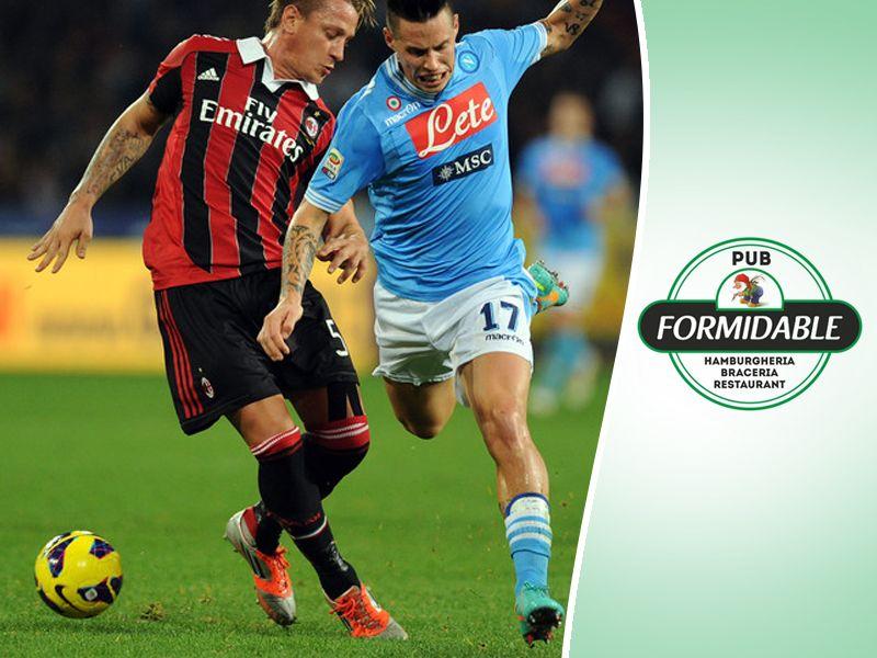 Offerta diretta Napoli vs Milan Aversa - Promozione partita Napoli vs Milan Aversa - Formidable