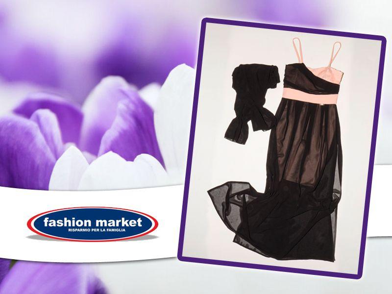 offerta abito lungo donna marca coveri - occasione abito elegante da sera donna Fashion Market