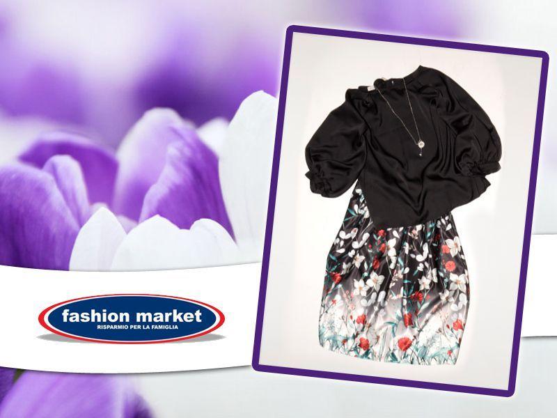 offerta Fashion Market linea donna gonna maglia - occasione collezione abiti donna primavera