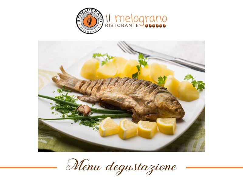 offerta menu degustazione pesce - promozione menu di mare ristorante melograno