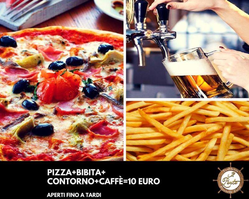 Il Porto - Trattoria Pizzeria Caffè Arezzo - Menù pizza