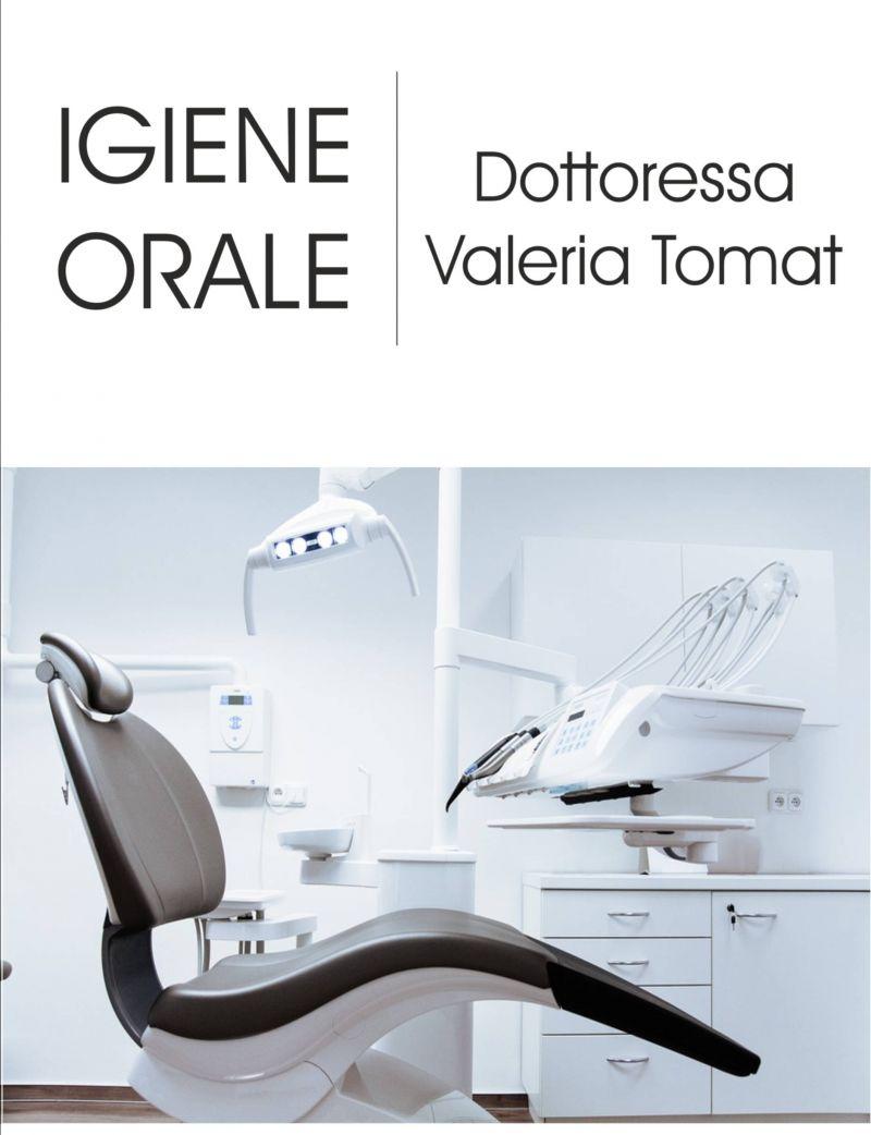Offerta igiene orale pulizia denti - Occasione igiene orale Dott. Valeria Tomat