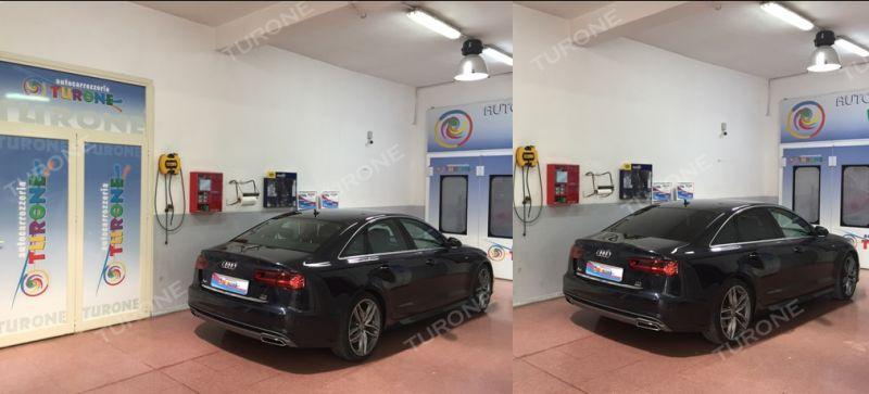 Nuova Audi A6 Berlina con pellicole oscuranti