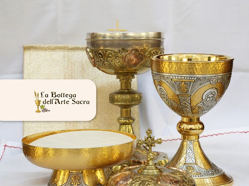 Offerta Calici - Promozione Oggetti per Chiesa - La Bottega Dell'Arte Sacra