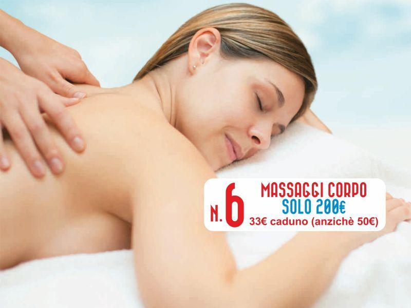 Offerta Massaggi - Promozione giugno corpo - Centro Estetico Patrizia trapani