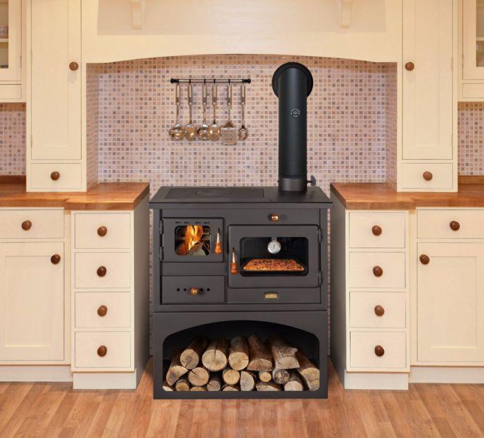 offerta cucina a legna prity mia - promozione stufa forno ...