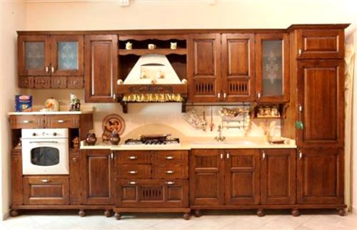 Espomobili | Realizzazioni in legno massello di cucina ...