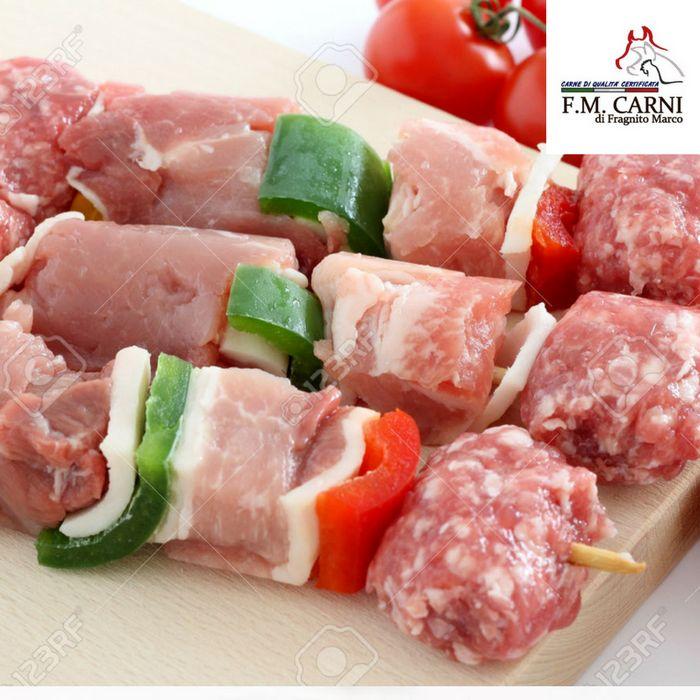 f.m.carni sottocosto offerta qualità macelleria spiedini barbecue