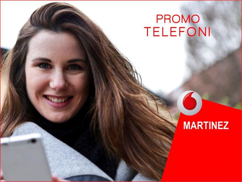 Offerta telefoni cash - Promozione smartphone - Vodafone Store martinez Trapani