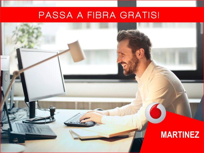 Offerta Passa a Fibra gratis - Promozione vodafone passaggio a fibra - Vodafone Store martinez