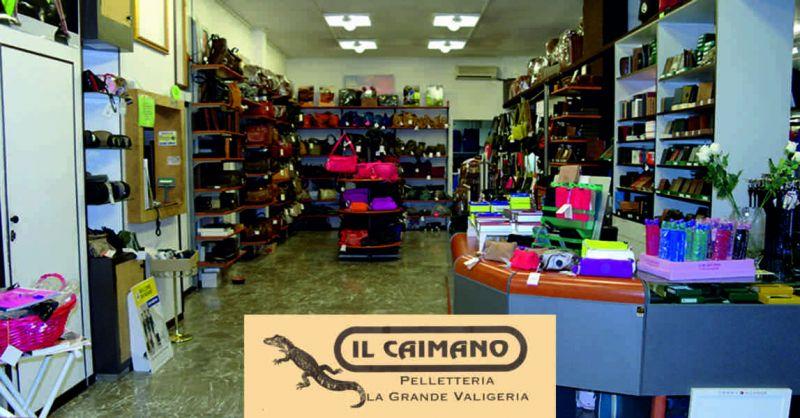 Il caimano offerta sconti borse da donna - occasione accessori in pelle Perugia