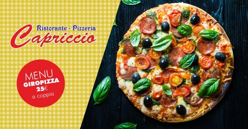 offerta cena giropizza per coppie valderice - promozione menu giropizza valderice