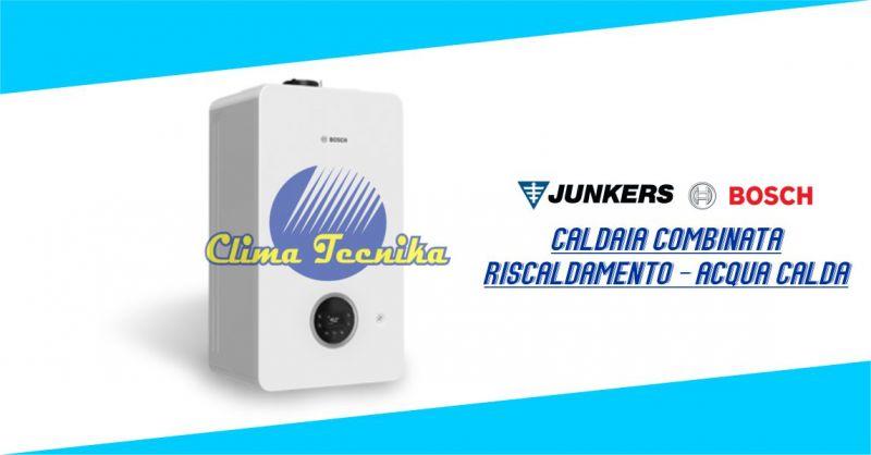 Clima Tecnika - offerta Caldaia murale compatta Junkers Bosch combinata a condensazione 2300 W