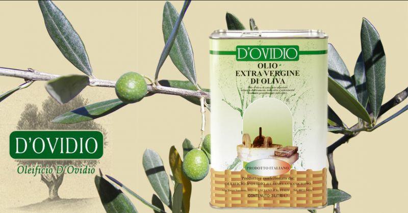 Oleificio D'Ovidio 3 L. Blechdose. Online-Verkauf von extra nativem Olivenöl Made in Italy