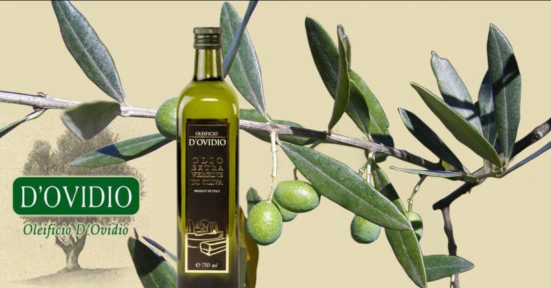 Oleificio D'Ovidio Angebot Herstellung von kaltgepressten Olivenöl extra vergine aus Italien