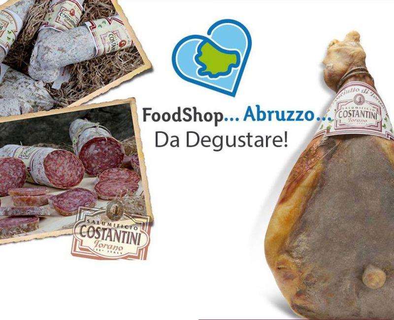 offerta vendita salumi stagionati abruzzesi - occasione produzione prodotti tipici  Abruzzo