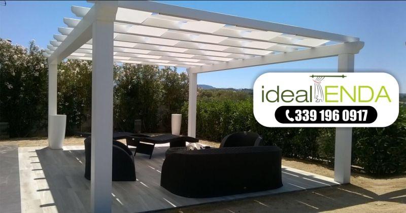 IDEAL TENDA Olbia  - offerta installazione pergole bioclimatiche superbonus 110 prezzi
