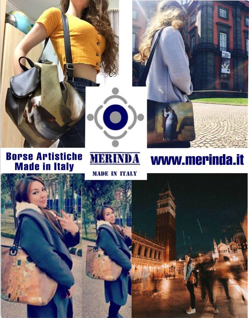 offerta Borse Artistiche Made in Italy - occasione borse esclusive Merinda Linea Arte Donna