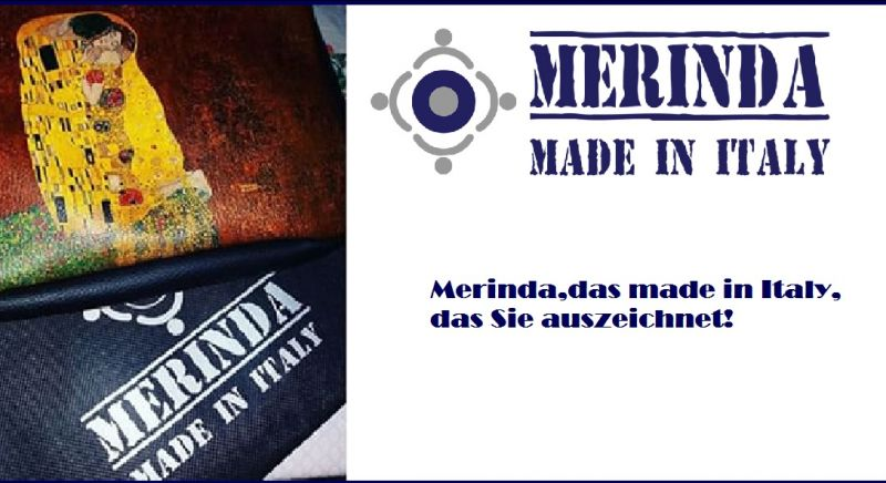 MERINDA - offerta vendita online borse donna STAMPE D'AUTORE made in italy