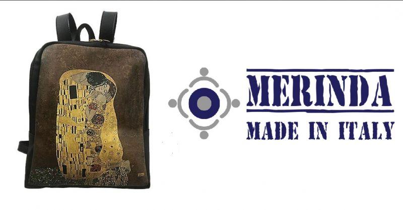 MERINDA - Förderung des Online-Verkaufs von Kunsttasche aus Italien Kunstrucksack