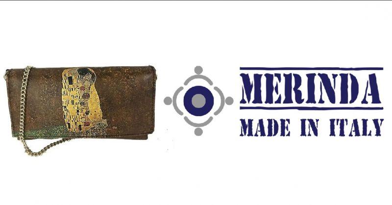 MERINDA - Online verkaufschance pochette künstlerischer Druck Italien hergest Klimt der Kuss