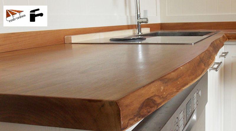 offerta piano cucina in legno su misura-promozione... - SiHappy