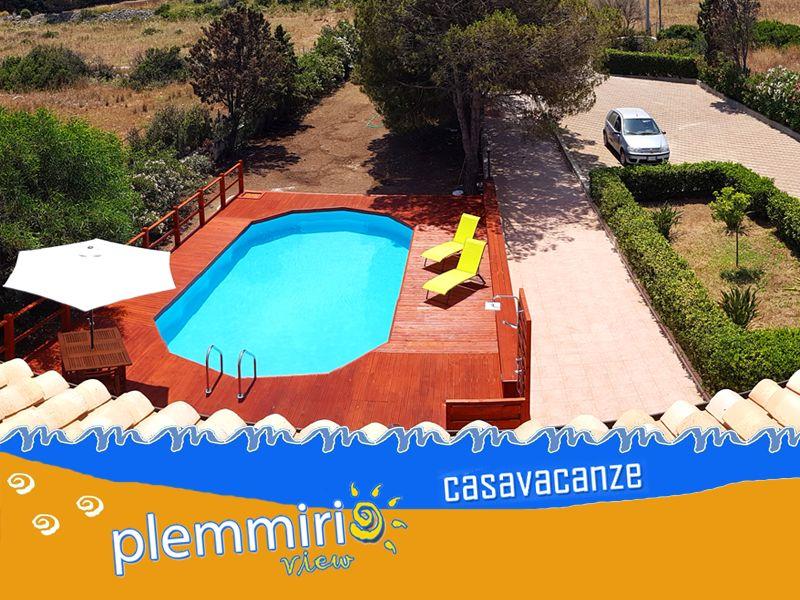 offerta CASA VACANZE CON PISCINA - promozione vacanze sicilia siracusa - plemmirio view