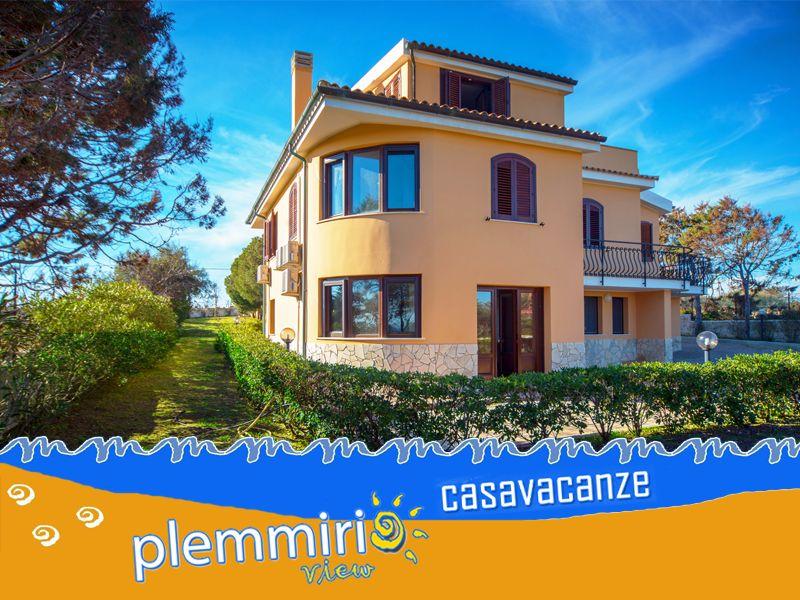 offerta affitto villa plemmirio - promozione casa vacanze siracusa - plemmirio view