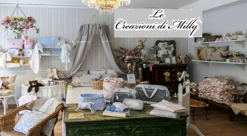 Le Creazioni di Milly offerta tendaggi cuciti a mano - occasione tessuti ricamati Potenza