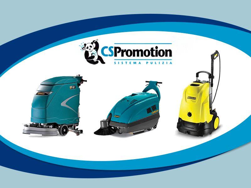 Offerta Macchine Pulizia Industriale - Occasione Attrezzature Pulizia - C.S. Promotion