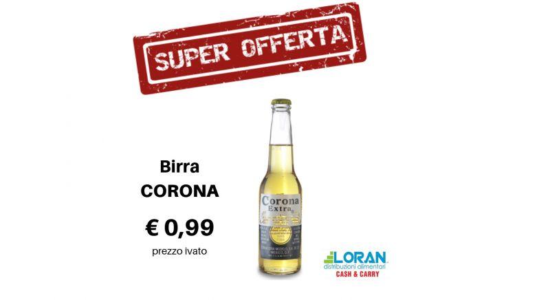 Loran Cash & Carry offerta birra corona - occasione bevande alcoliche Siracusa