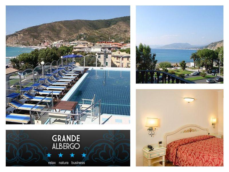 offerta albergo con piscina sestri levante - promozione hotel mare - Hotel grande albergo