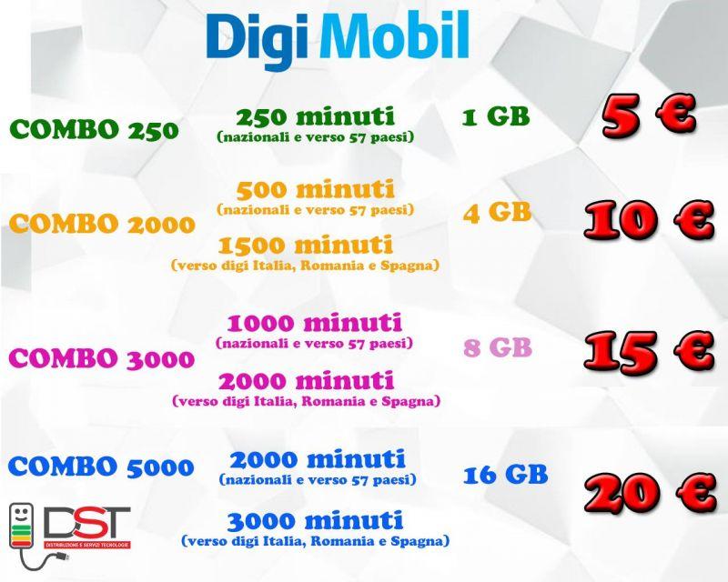 Abbonamenti e Offerte Telefoniche Digi Mobil