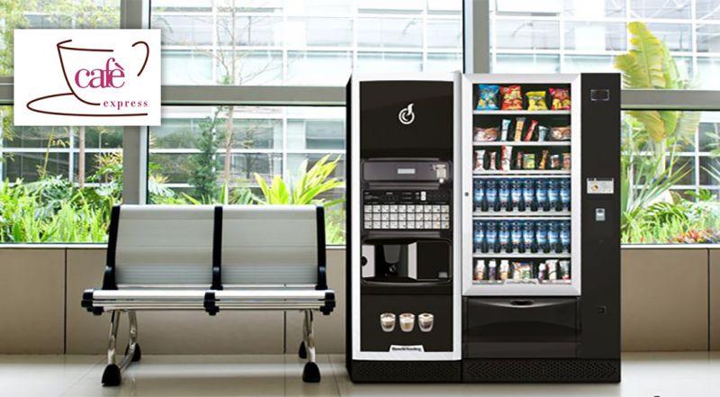 Cafè exspress offerta distributori automatici caffe - occasione fornitori distributori Vittoria