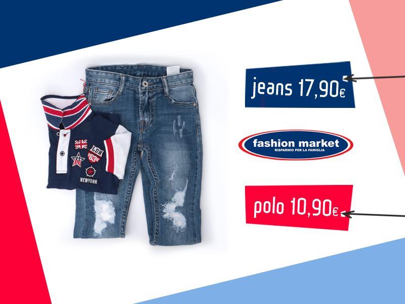 offerta abbigliamento da uomo polo - occasione moda uomo jeans uomo trendy Fashion Market