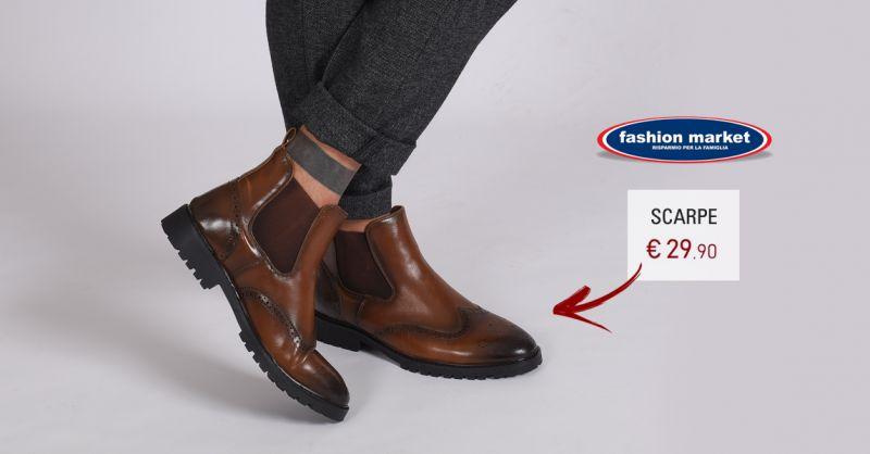 Fashion Market offerta calzature uomo stile british Roma - occasione Scarpe Uomo Duilio marrone