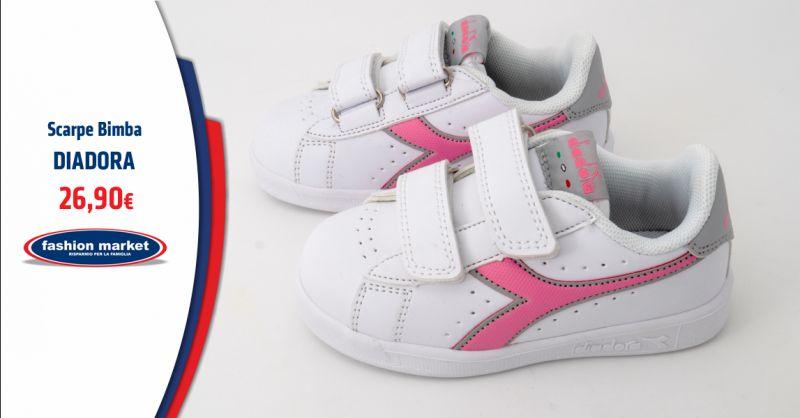 FASHION MARKET Offerta scarpe Diadora Bambina Roma - Occasione Diadora Bambina Abbigliamento