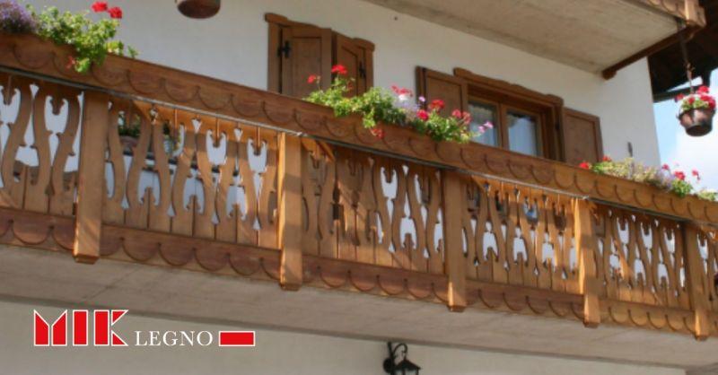Mik Legno occasione balconi resistenti - offerta realizzazione,installazione poggioli su misura