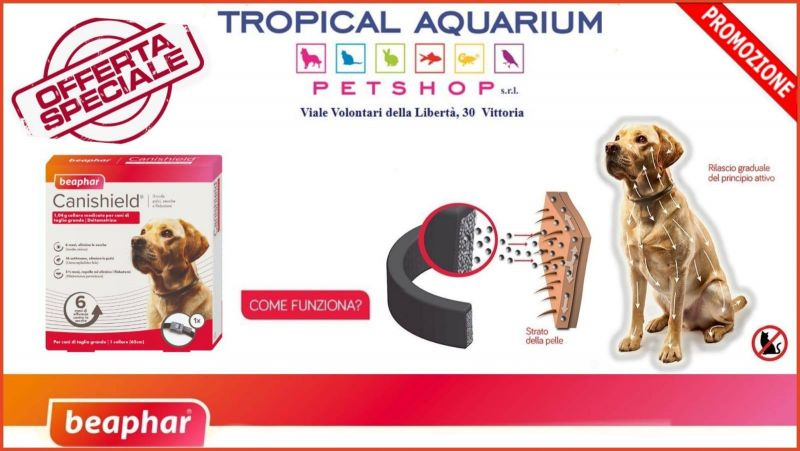 Collare antiparassitario scontato da Tropical Aquarium Petshop