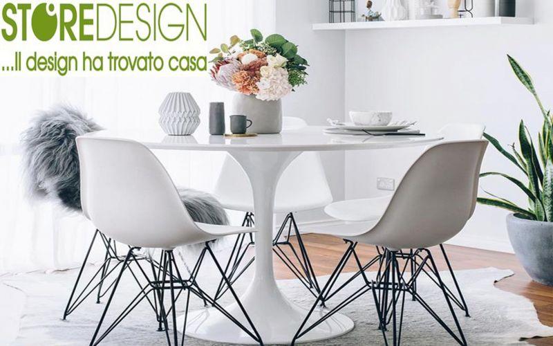 Tavolo marmo Cristallino Tulip - Saarinen Made in Italy