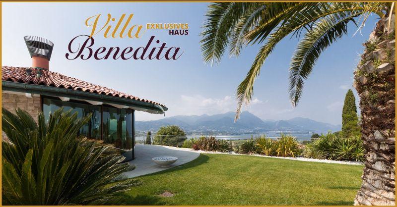 Angebot übernachtung mit frühstück und Pool in einer exklusiven Villa am Gardasee Italien